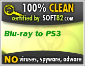 Bluy-ray to pS3 100% clean
